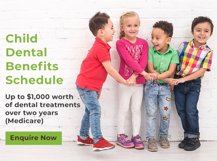 child dental benefits schedule banner warrnambool