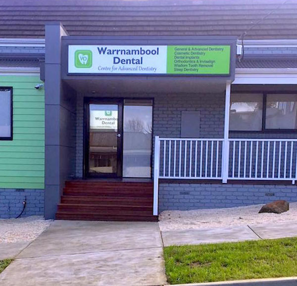 warrnambool dental external building