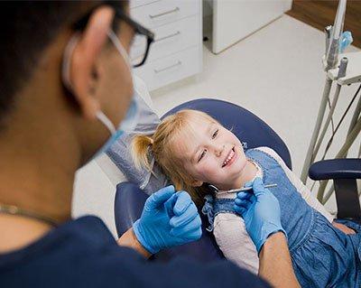 little girl patietn warrnambool dental