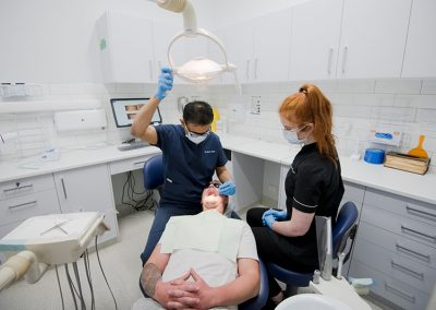 warrnambool dental checkup with patient