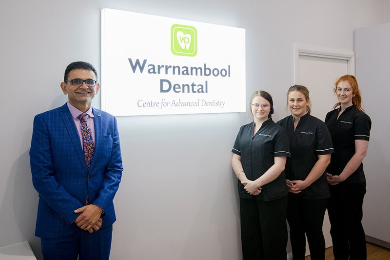 warrnambool dental dentist with team